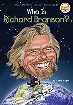 Who Is Richard Branson? (Who Was?) by [Michael Burgan, Who HQ, Ted Hammond]