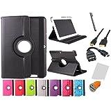 theoutlettablet Drehbare Tasche für Tablet Bq Edison 3 Quad Core 10.1
