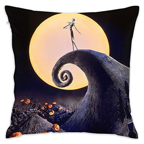 ZGSDYMMB The Nightmare Before Christmas Pillow Covers Throw Pillow Case Daily Decorations Sofa