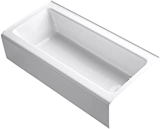 Bellwether 60 In. x 30 In. Alcove Bah with Integral Apron, Tile Flange, and Right-Hand Drain, White