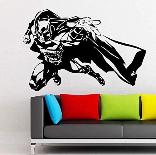 Etiqueta de la pared del vinilo DC Comics Decals Decoración del hogar Habitación de los niños Niños Dormitorio Murales 63x42cm