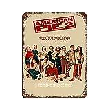 Art Deco Movie Retro Poster American Pie 2 Blechschild