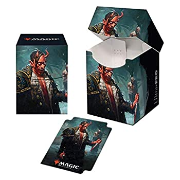 Kaldheim 100+ Deck Box Featuring Tibalt Cosmic Imposter for Magic  The Gathering