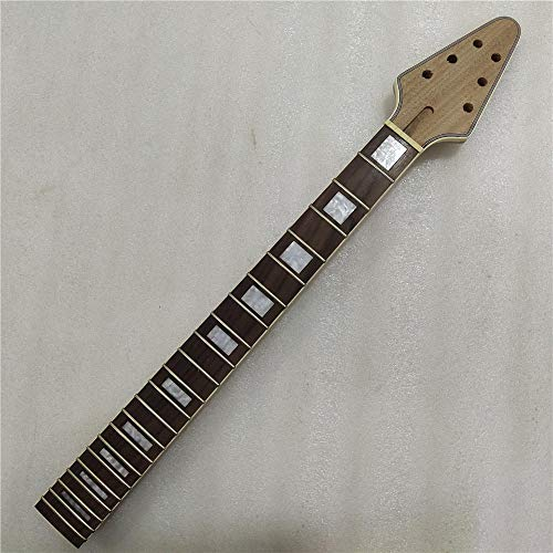 chushi Inocentrados Caoba 22 Trastes De Guitarra Eléctrica Cuello De Palisandro De Palisandro Tornillo Zzib