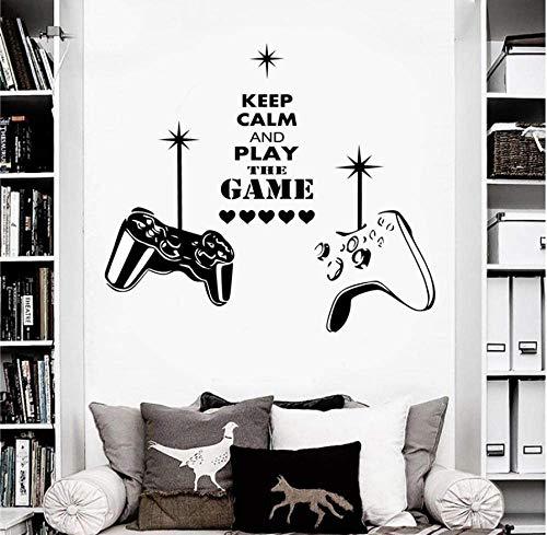 Pegatinas De Pared Gaming Wall Art Decal...