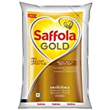Saffola Gold, Pro Healthy Lifestyle Edible Oil, Pouch, 1 L