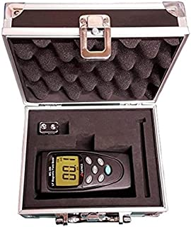 LATNEX MG-300 Gauss and Magnetic Field Meter with battery, Protection Boot & Aluminium Case
