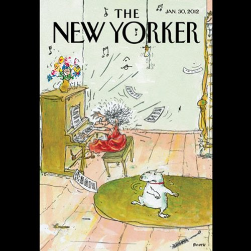 The New Yorker, January 30th 2012 (Jonah Lehrer, Nick Paumgarten, Adam Gopnik) audiobook cover art