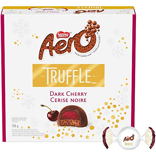 Nestlé Aero Truffle Dark Cherry Gift Box, 126 Grams
