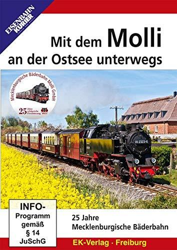 Mit dem Molli an der Ostsee unterwegs - 25 Jahre Mecklenburgische Bäderbahn