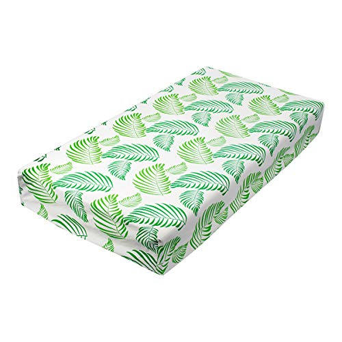 Review ALVABABY Changing Pad Cover,100% Organic Cotton,Large 32 X 16,Soft and Light,Baby Cradl...