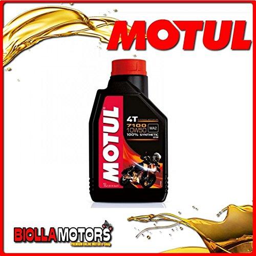 motul19–Bote 1Litro Aceite Motul 71004T 10W50100% sintentico para motores 4T