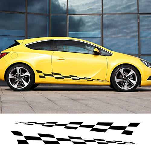 HLLebw Auto Pegatinas de Calcomanías para Opel Adam Astra Viva Corsa