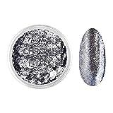 NEONAIL Silber Glitzerpuder Chrome Flakes Effekt für Nägel