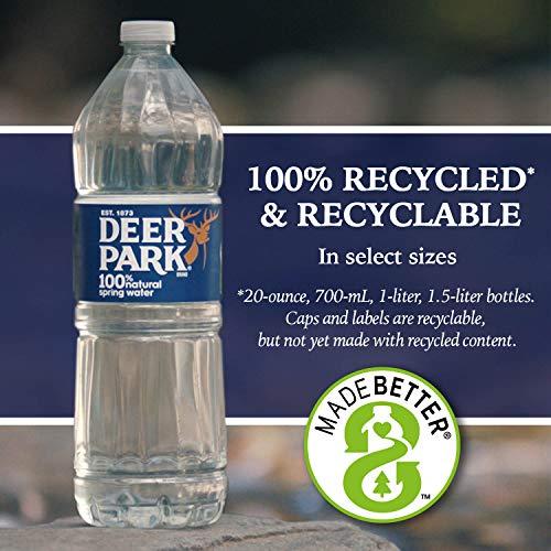 Agua Destilada De La Marca Deer Park 1 Caja 6 Botellas Grocery Gourmet Food