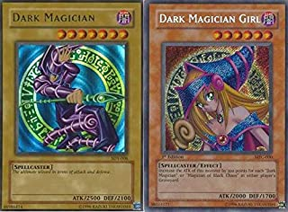 Yu-Gi-Oh!! Dark Magician and Dark Magician Girl! 30 Card Lot! with RARES Guaranteed!