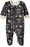 NFL New Orlean Saints Unisex Blanket Sleeper, Black, 2T