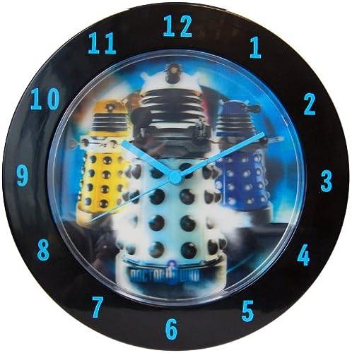 cómodo Dr. Dr. Dr. Who Lenticular Wall Clock Dalek  barato y de alta calidad