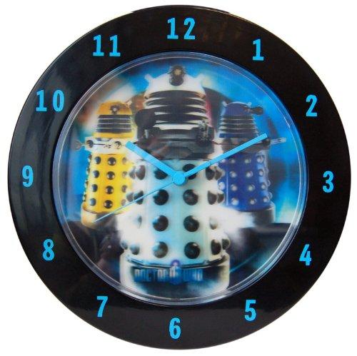 Dr. Who Lenticular Wall Clock Dalek