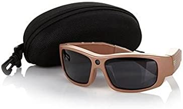 GoVision Polarized HD Video-Capture Sunglasses with Still Camera, Carrying Case and 4GB microSDHC Card - Titanium
