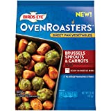 One 15 oz bag of Birds Eye Oven Roasters Seasoned Brussels Sprouts & Carrots Frozen Vegetables Ready to roast for an easy frozen mixed vegetables side dish that provides an excellent source of Vitamin C Frozen Brussels sprouts and frozen carrots are ...