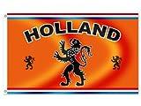 Alsino Länder Flaggen Fahnen zur Fußball WM Maße 90x150 cm, Land wählen:FL-30 Holland