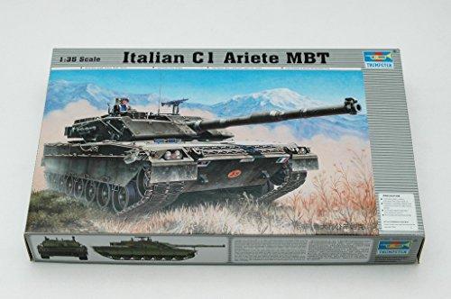 Trumpeter 00332 Modellbausatz Italienischer Panzer C-1 Ariete