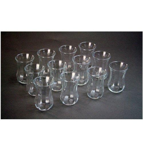 ToCi Pasabahce Optik - Juego de 12 vasos de té turco