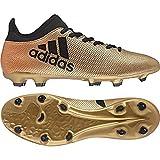 adidas X 17.3 FG, Scarpe da Calcio Uomo, Oro (Gold/Schwarz/Rot...