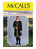 McCall's Outlander Mens Coat Costume | Size 38-44 Sewing Pattern M7762