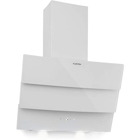 respekta Hotte oblique concave blanche 60 cm Classe defficacit/é /énerg/étique A CH 55060 WA