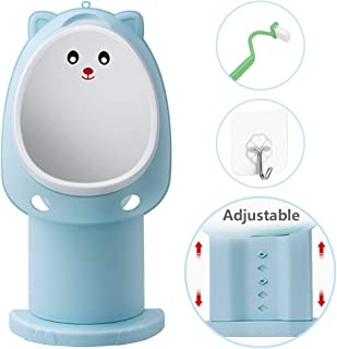 Hallo Potty Training Urinal Kids Toddler Pee Trainer Bathroom Funny Baby Training Potties(Blue)