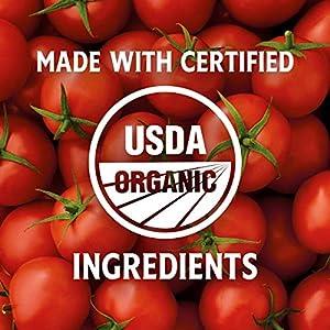 Heinz Organic Tomato Ketchup (14 oz Bottles, Pack of 6)