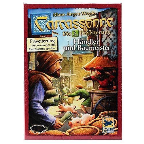 Asmodee Carcassonne 2 Händler & Baumeister, bunt