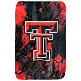 College Covers Texas Tech Red Raiders Sublimated Soft Throw Blanket, 30' x 40' (SUBTH)