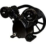2 HP Air Compressor Pump 150 PSI MAX Replacement Pump, Twin Cylinder, Puma Style