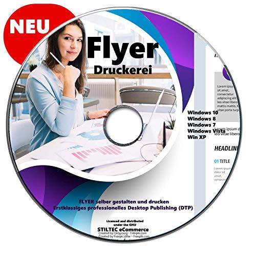 Flyer Druckerei professionelle FLYER selber gestalten und drucken für Windows ZEITUNGSDRUCKEREI TOP