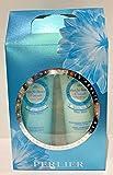 Caja de crema hidratante corporal PERLIER MUSK WHITE y ducha de crema PERL-408