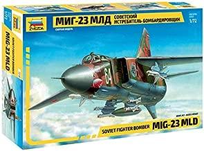 Zvezda 7218 - Soviet Fighter Bomber MIG-23 MLD - Plastic Model Kit Scale 1/72 Lenght 23 cm/ 9.25