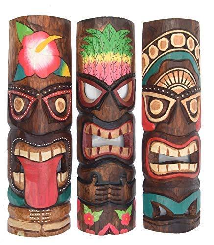 Interlifestyle 3 Tiki Máscaras 50cm en el Maui Hawai Buscar