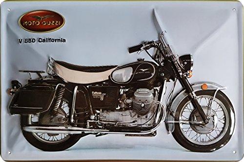 MOTO GUZZI Blechschild Motorrad
