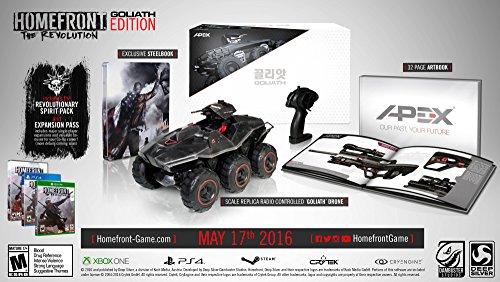 Homefront: The Revolution Goliath Edition - ホームフロント ザ レボリューション ゴリアス エディション (Xbox One 海外輸入北米版ゲームソフト)