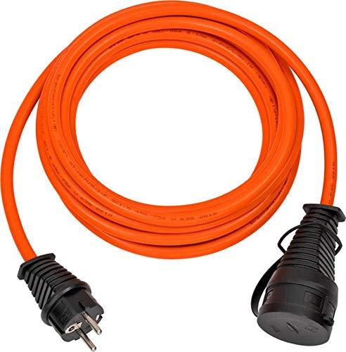 Brennenstuhl BREMAXX Verlängerungskabel (5m Kabel in orange, für den Einsatz im Außenbereich IP44, Stromkabel einsetzbar bis -35 °C, Öl- und UV-beständig)