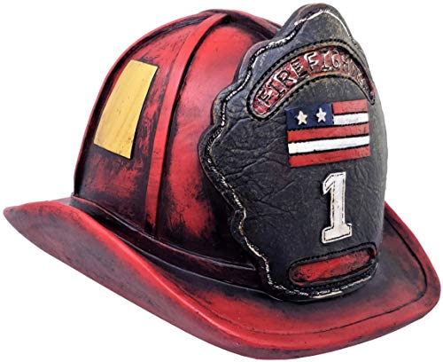 Rainbow Trading RA 8171 Firefighter Coin Bank