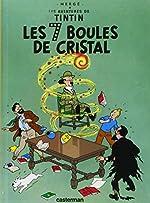 Les Aventures de Tintin, Tome 13 - Les 7 boules de cristal : Mini-album de Herge