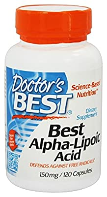 Doctor's Best Alpha-Lipoic Acid, 150 mg, 120 Capsules