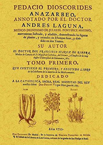 Pedacio Dioscorides anazarbeo, annotado por el doctor Andres Laguna: 2