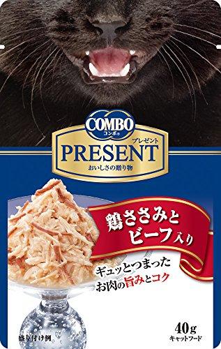 日本ペットフード コンボ プレゼント キャット ささみとビーフ 40g