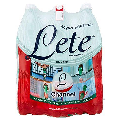 Lete Channel Acqua Minerale Effervescente Naturale - 6 x 1.5 L