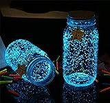 SPFOZ Decoración hogareña Brillo Luminoso noctilucentes Arena del Acuario del Tanque del Partido Fluorescente partículas Pescado Decoración Resplandor en la decoración Oscuro de la Navidad